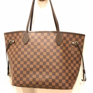 LV Neverfull Damier Ebene Medium